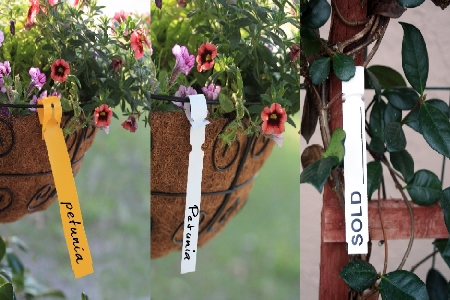 Wrap Around Tags And Plastic Tags For Your Plants Dp